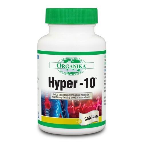 Hyper 10 - pomáha udržiavať dobrý krvný tlak a zdravé srdce 60 kapsúl