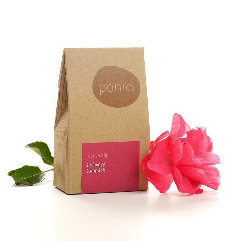 Růžová alej - kopřivový šampúch 6