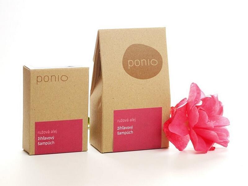 Růžová alej - kopřivový šampúch 8