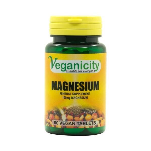 Magnesium – HORČÍK (magnézium) od Veganicity, 100mg 90 tabliet